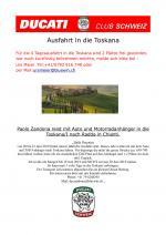 4 Tagesausfahrt in die Toscana